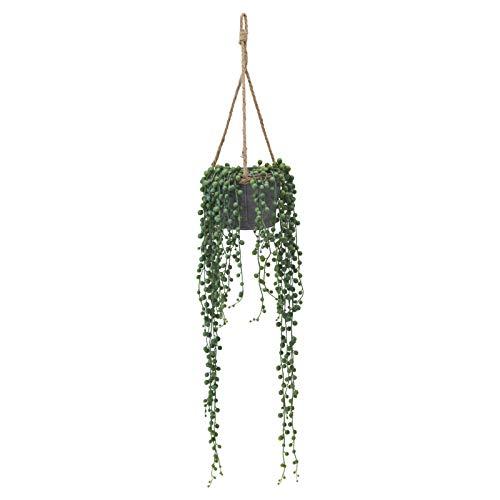 RoomClip商品情報 - ドウシシャ 人工観葉植物 グリーン 約88.0cm グリーンネックレスハンギング HAC-061