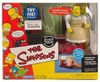 Playmates–Theシンプソンズ–スプリングフィールドInteractiveの環境の世界(プレイセット)–Springfield ElementaryカフェテリアW / Exclusive Lunchlady Doris図とカスタムアクセサリー。