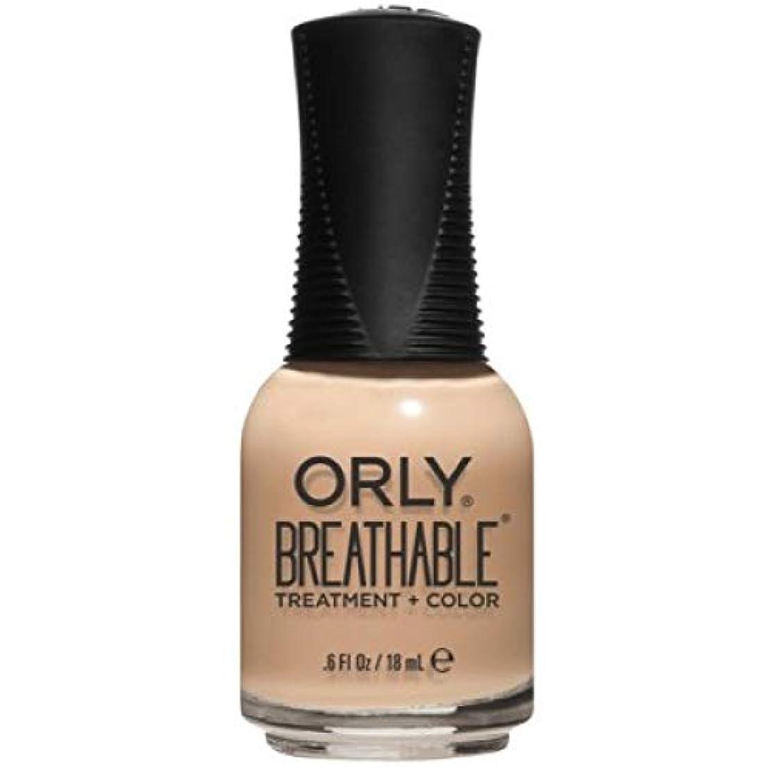 原子しなやか血統Orly Breathable Nail Lacquer - Treatment + Color - Mind, Body, Spirit - 0.6 oz / 18 mL
