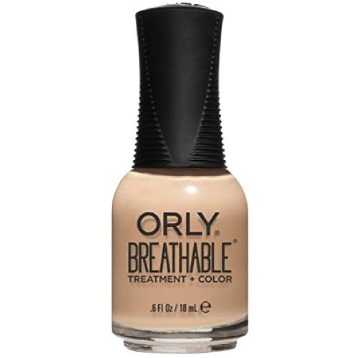 交響曲スーダン四回Orly Breathable Nail Lacquer - Treatment + Color - Mind, Body, Spirit - 0.6 oz / 18 mL