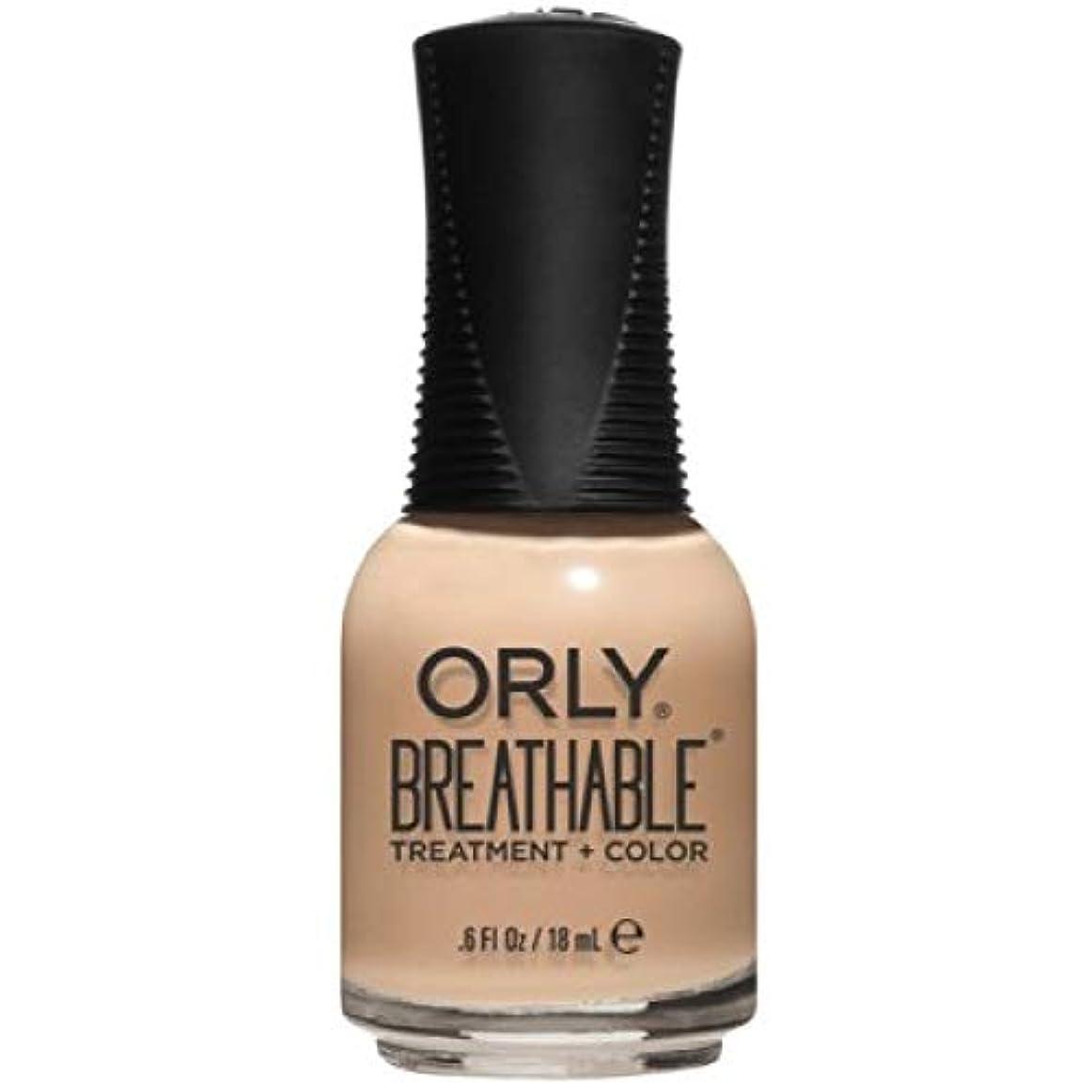 和らげるファセット宮殿Orly Breathable Nail Lacquer - Treatment + Color - Mind, Body, Spirit - 0.6 oz / 18 mL