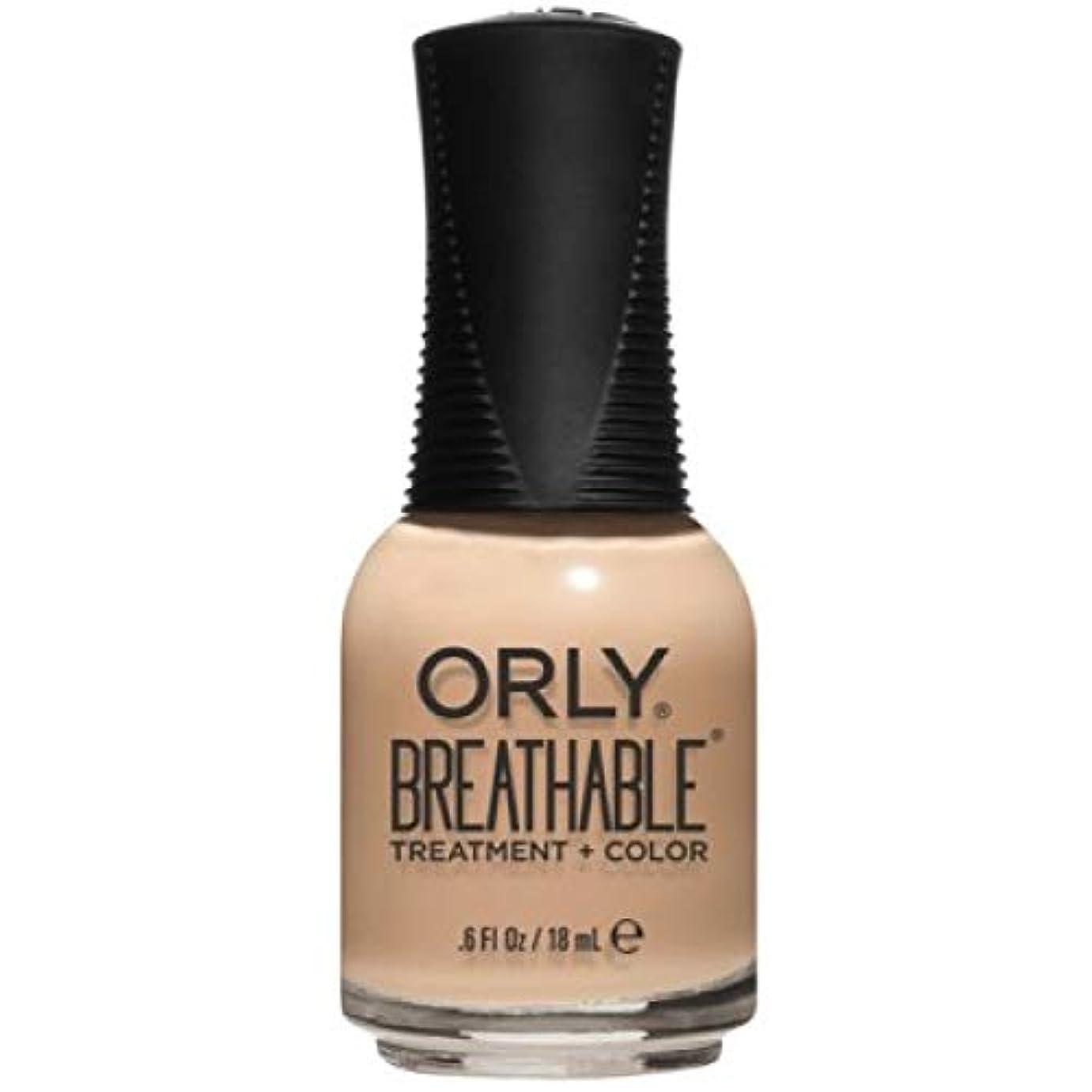 芸術的困った熱意Orly Breathable Nail Lacquer - Treatment + Color - Mind, Body, Spirit - 0.6 oz / 18 mL