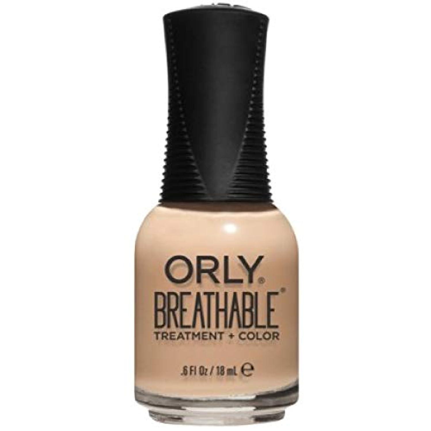 コミュニティデータム蓄積するOrly Breathable Nail Lacquer - Treatment + Color - Mind, Body, Spirit - 0.6 oz / 18 mL