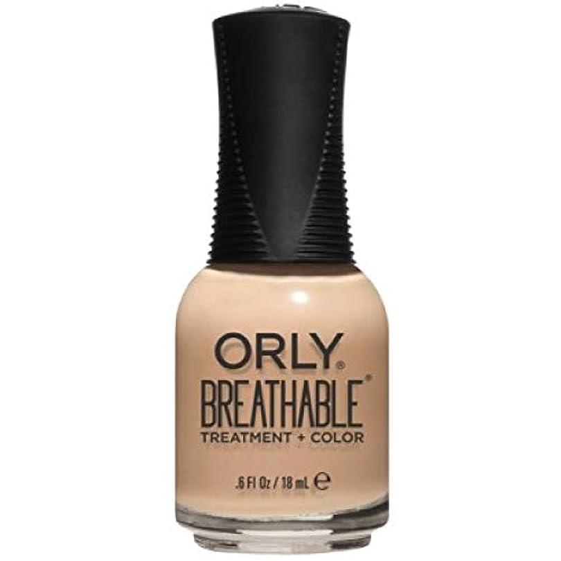 生きる荒らす赤字Orly Breathable Nail Lacquer - Treatment + Color - Mind, Body, Spirit - 0.6 oz / 18 mL