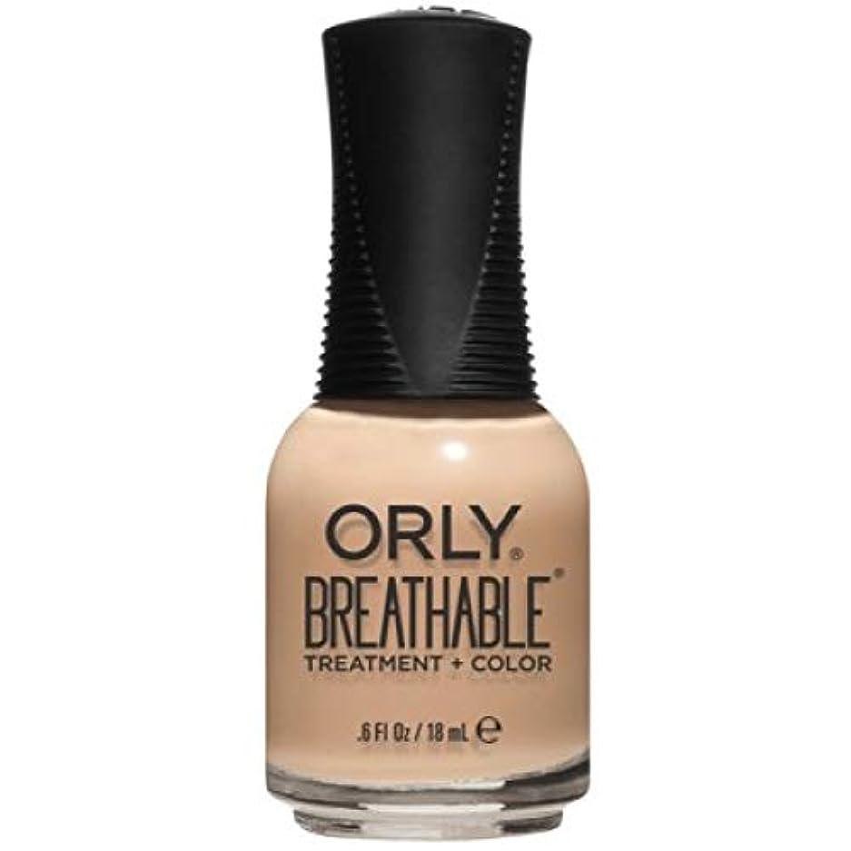 ライム広告するマナーOrly Breathable Nail Lacquer - Treatment + Color - Mind, Body, Spirit - 0.6 oz / 18 mL