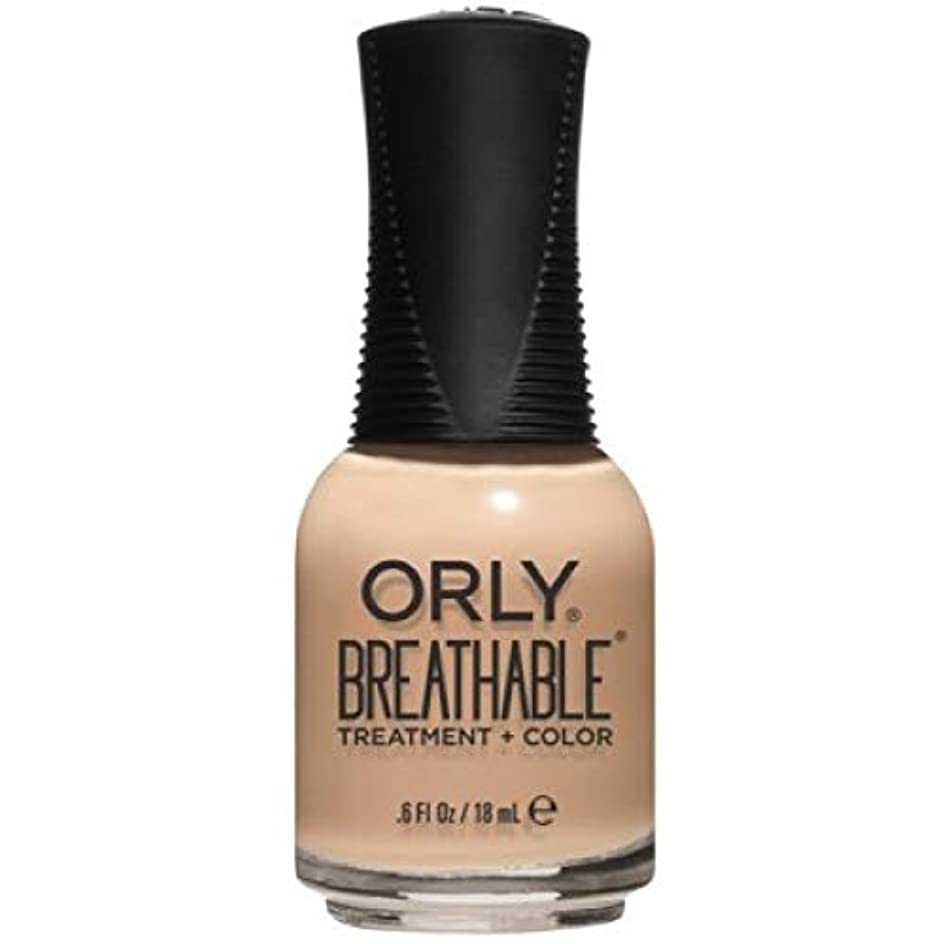 余剰その間気晴らしOrly Breathable Nail Lacquer - Treatment + Color - Mind, Body, Spirit - 0.6 oz / 18 mL