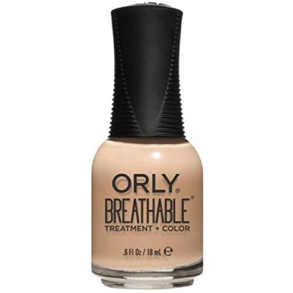 写真を描く無秩序平和Orly Breathable Nail Lacquer - Treatment + Color - Mind, Body, Spirit - 0.6 oz / 18 mL