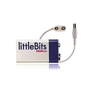 littleBits 電子工作 モジュール用 BATTERY+CABLE バッテリー+ケーブル