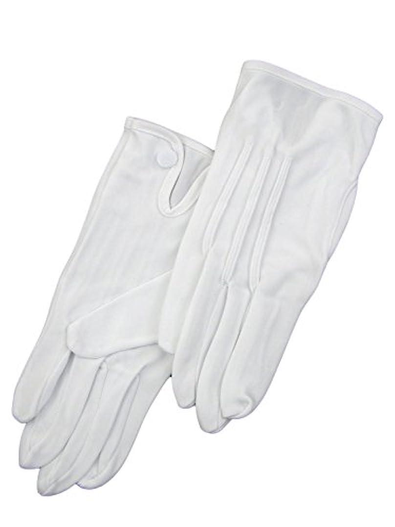 散る予知ピジン紳士白ナイロン手袋 105 シロ L