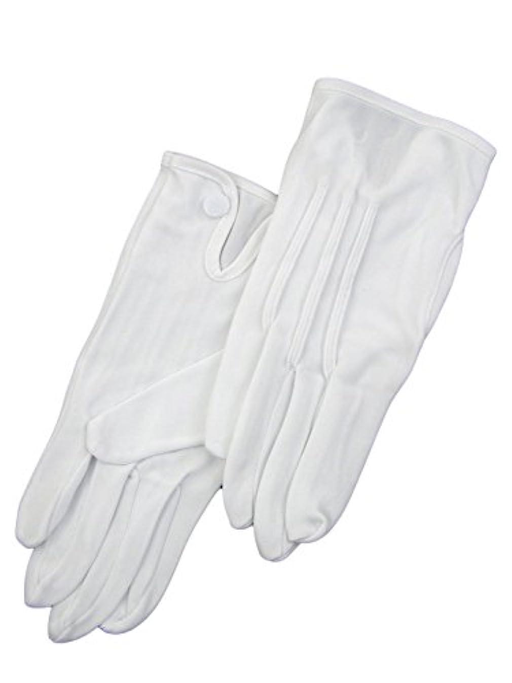 紳士白ナイロン手袋 105 シロ L