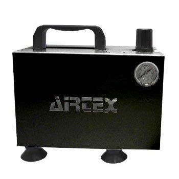 エアテックス コンプレッサー APC-018-2 ブラック