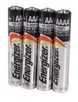 Energizer アルカリ 乾電池 AAAA 4個 単6電池