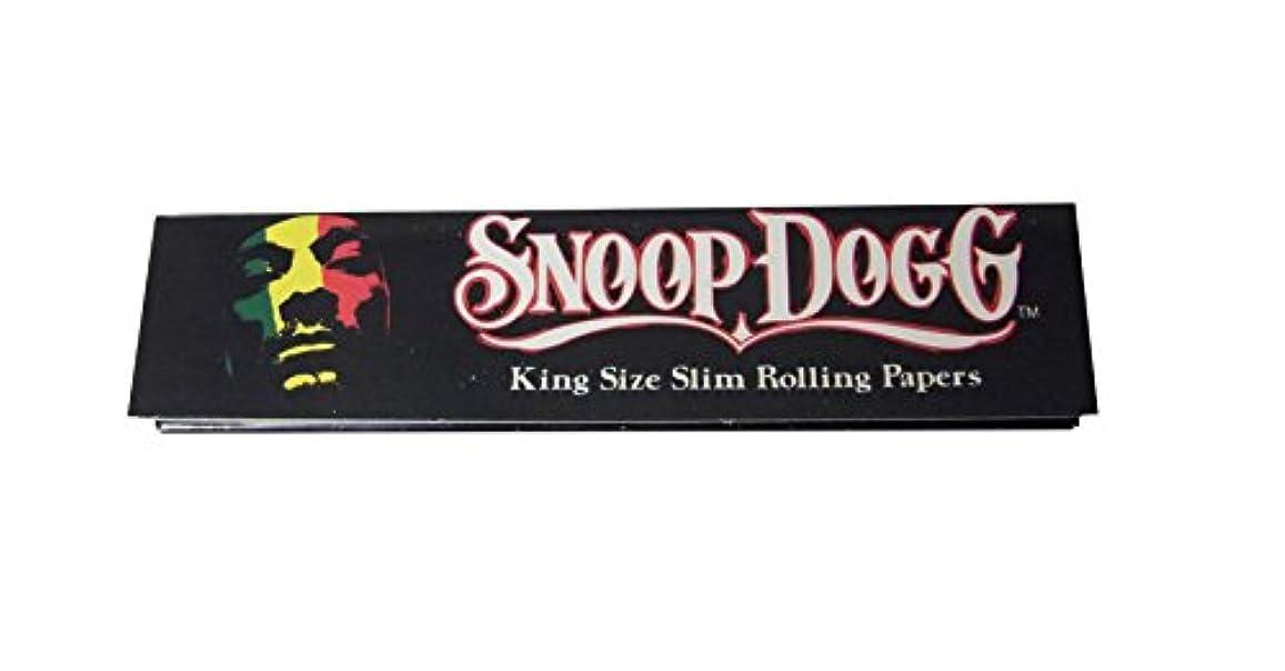 コンベンション不実ダイバーSNOOP DOGG ローリングペーパー キングサイズスリム 110mm ロング タバコ ペーパー [並行輸入品]