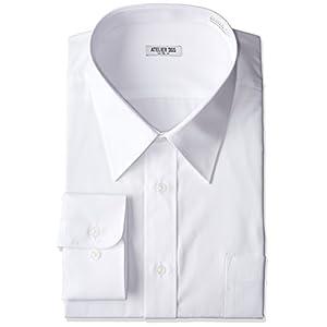 (アトリエサンロクゴ) atelier365 形態安定 長袖Yシャツ【礼服】【ドレスシャツ】【ワイシャツ】/6041-sm-zaiko-M-39-82
