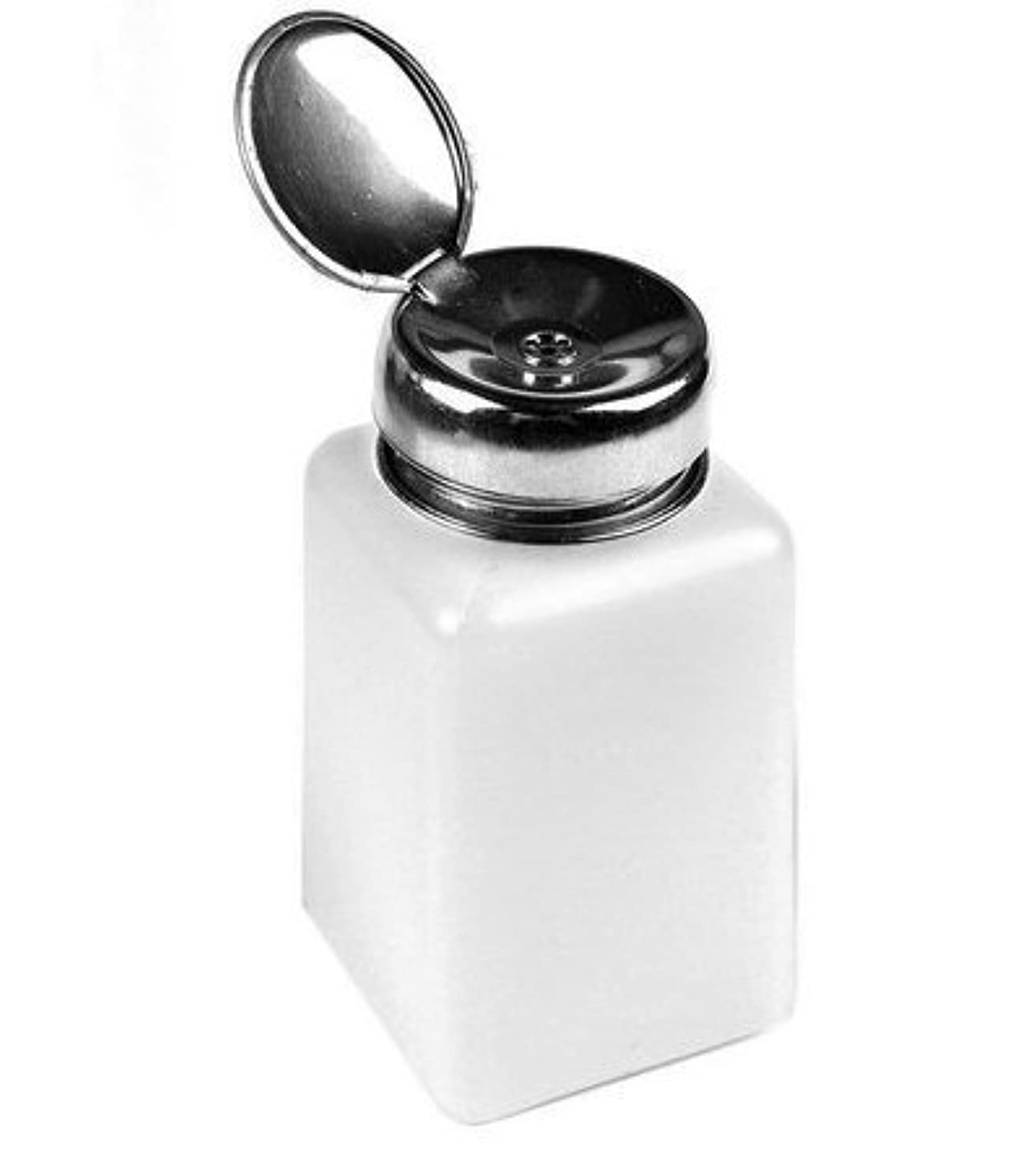 マルクス主義積極的に相談するネイルアートポリッシュリムーバー用100MLポンプディスペンサーボトル
