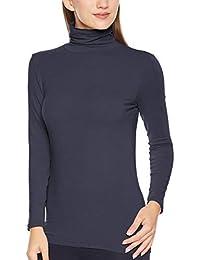 [ベルメゾン] あったか インナー ホットコット 綿混 タートル ネック 長袖 C16704 レディース