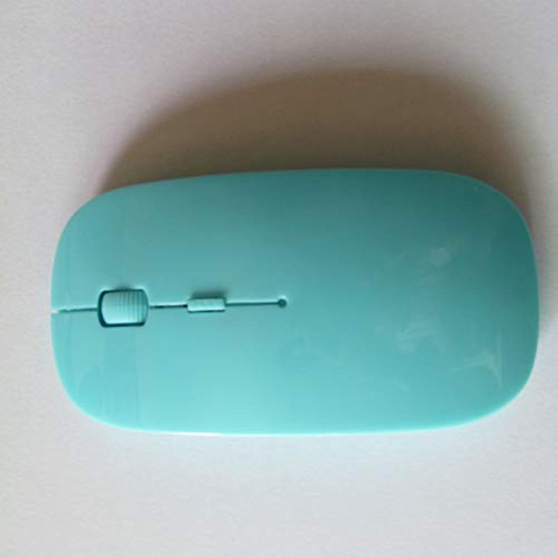 Saikogoods ミニマウスUSB光学式ワイヤレスコンピュータマウス2.4G受信機スーパースリムマウス(PCラップトップ用)