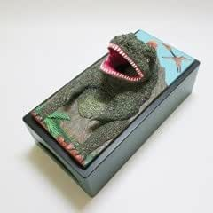 おもしろ雑貨『ティッシュケース』恐竜・ティラノサウルス | フィギュア・ドール 通販