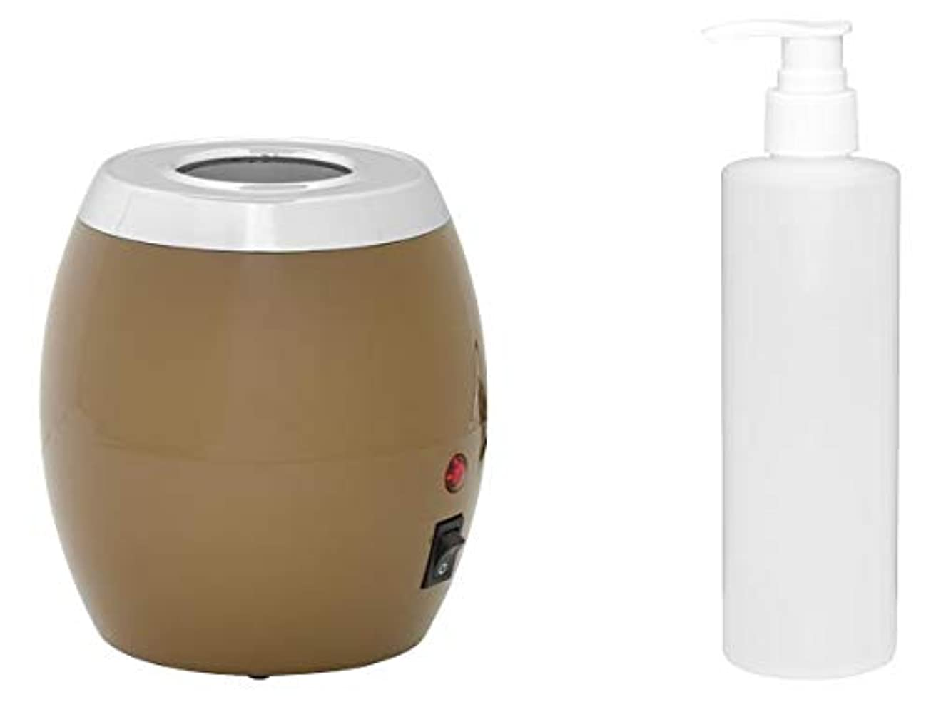 始まり一方、なすオイルヒーター ボトル付 オイルウォーマー マッサージオイル ボディオイル ヒーター ウォーマー