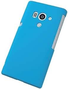 ELECOM Xperia acro HD docomo SO-03D/au IS12S シリコンケース ブルー PD-SOX7SCBU