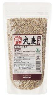オーサワの有機丸麦(三分搗き) 250g×10個          JANコード:4932828066202 オーサワジャパン