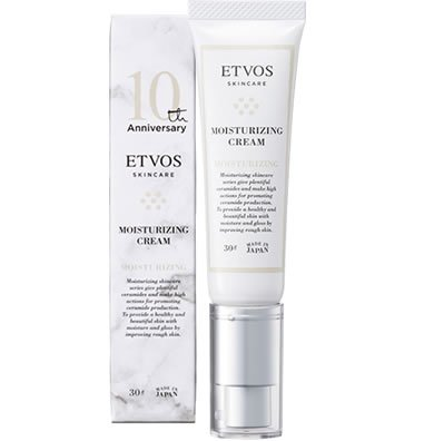 【ETVOS(エトヴォス) 】10周年記念デザイン】モイスチャライジングクリーム_30g<保湿クリーム>