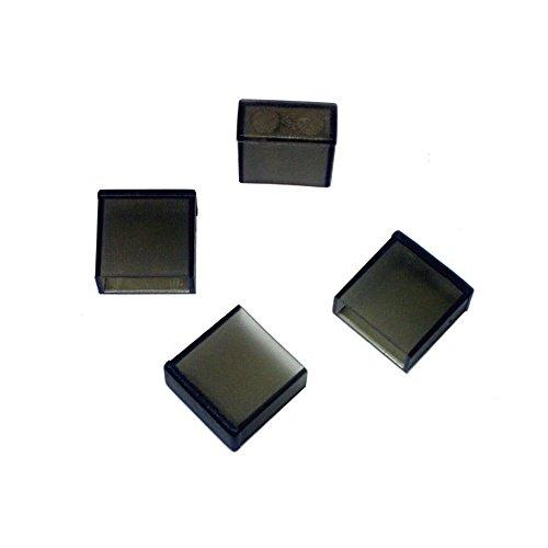 monofive USB A(オス)コネクタ用 保護カバーキャップ 12個入り 黒(半透明) MF-USBC-12B