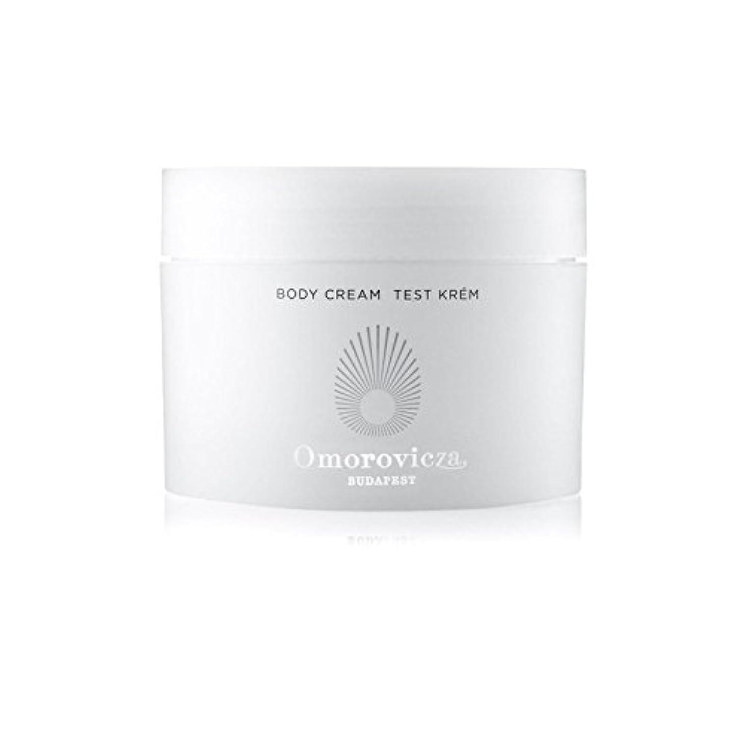 火不屈大量ボディクリーム(200ミリリットル) x4 - Omorovicza Body Cream (200ml) (Pack of 4) [並行輸入品]