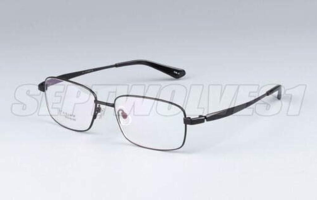 FidgetGear メンズ純チタン老眼鏡UV400コーティングレンズリーダー+0.00?+ 5.00 ブラック