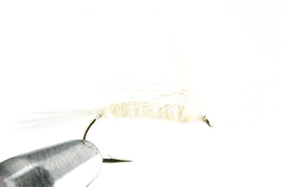 限界文明化印象的なGoFly 定番フライ ライトケイヒルパラシュート #14 6本セット
