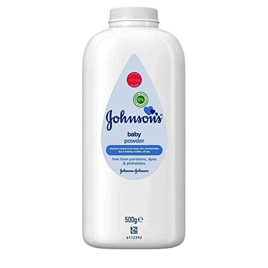 Johnson's Baby Powder, 500g