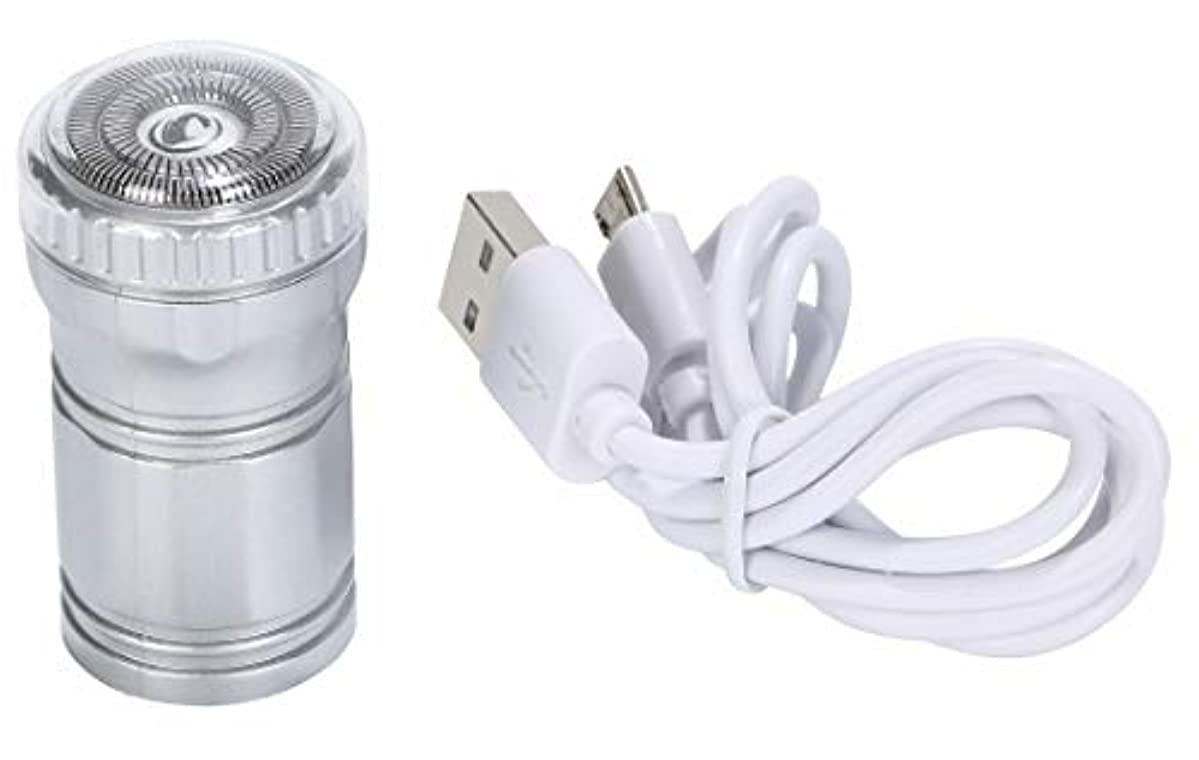 r_planning コンパクト シェーバー 髭剃り USB給電 USBコード 付属