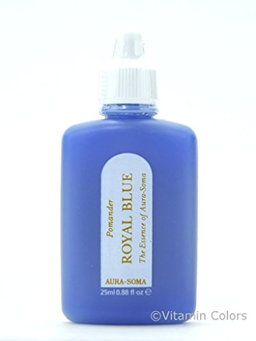 押す不安定な抑制オーラソーマ ポマンダー ロイヤルブルー/25ml Aurasoma