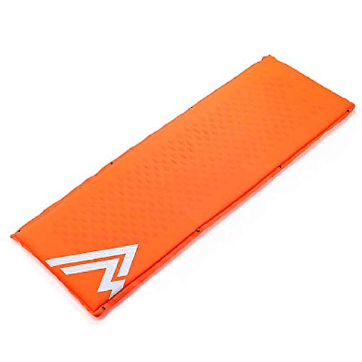 見通し剃る頼るキャンプ用マットレスとインフレータブルロールマット - インフレータブルスリーピングマット - コンパクトで防湿性 - ハイキング、ハンモック、テントに最適