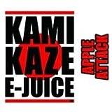 KAMIKAZE E-JUICE カミカゼ アップルアタック APPLE ATTACK 電子タバコ 日本製国産 リキッド 15ml 1本