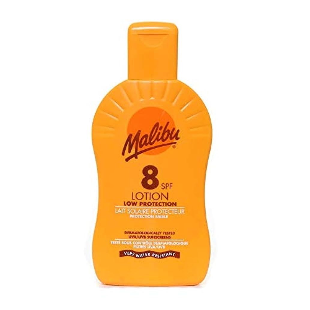 お酒エキゾチック雇ったMalibu Protective Sun Lotion SPF8 Medium Protection 200 ml (Parallel Import Goods)