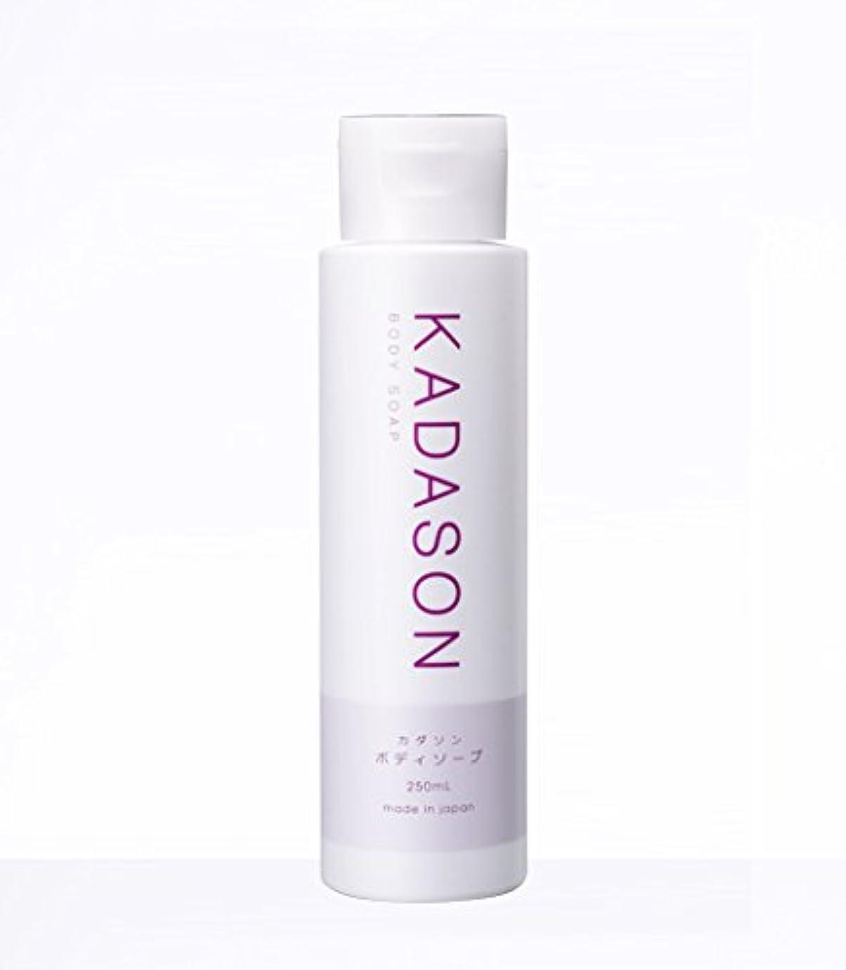 ブランド適用するスリラーKADASON(カダソン) ボディーソープ【脂漏性皮膚炎専門医が監修】身体のカユミを抑える洗顔もできるボディソープ