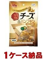 【1ケース納品】 森乳サンワールド ワンラック 本物チーズ&パンプキン 60g ×24個入