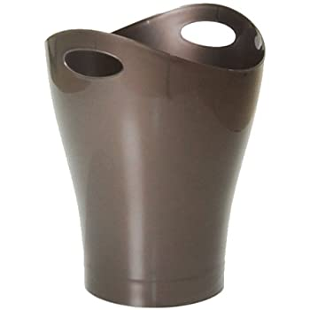 umbra フタ無しゴミ箱 GARBINO CAN (ガルビノカン) メタリックブロンズ 9L 2082857-125