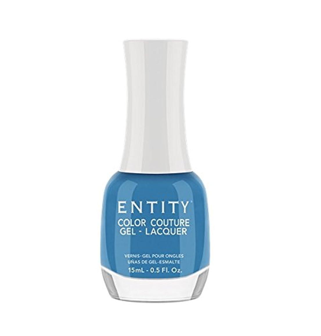 ホップ時代遅れ精度Entity Color Couture Gel-Lacquer - Flaunt Your Fashion - 15 ml/0.5 oz
