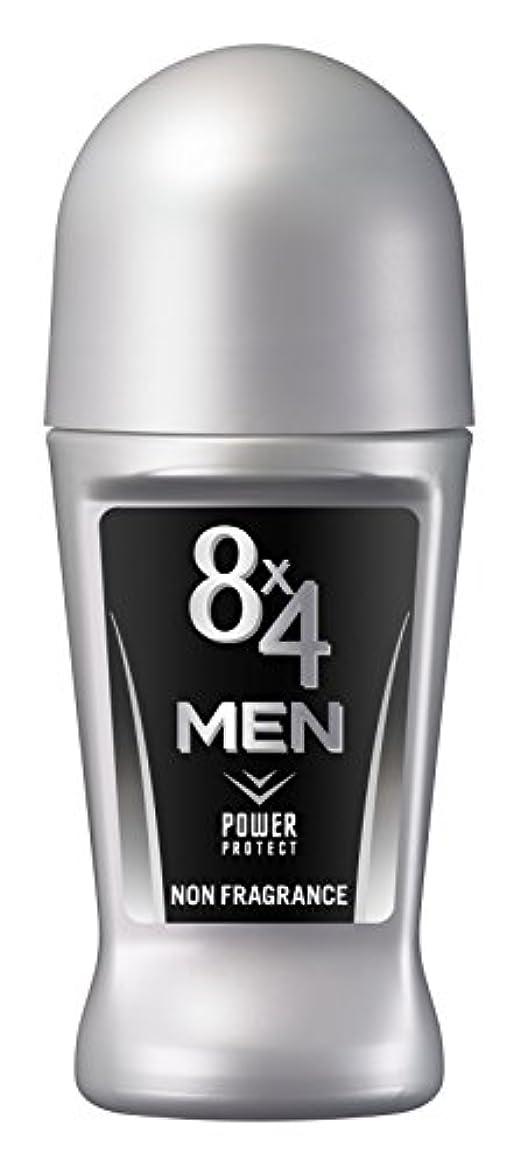 プレミアム一杯ゆるいエイトフォーメン 8x4メン ロールオン 無香料 男性用 制汗剤 デオドラント 単品 60ml