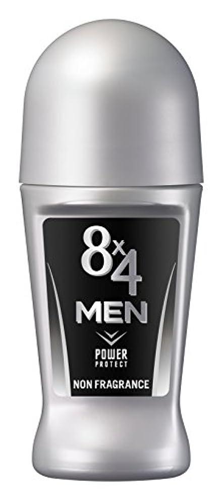 殺す誰も珍しいエイトフォーメン 8x4メン ロールオン 無香料 男性用 制汗剤 デオドラント 単品 60ml