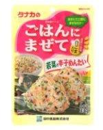 田中食品 タナカのごはんにまぜて 若菜と辛子めんたい (33g) ふりかけ