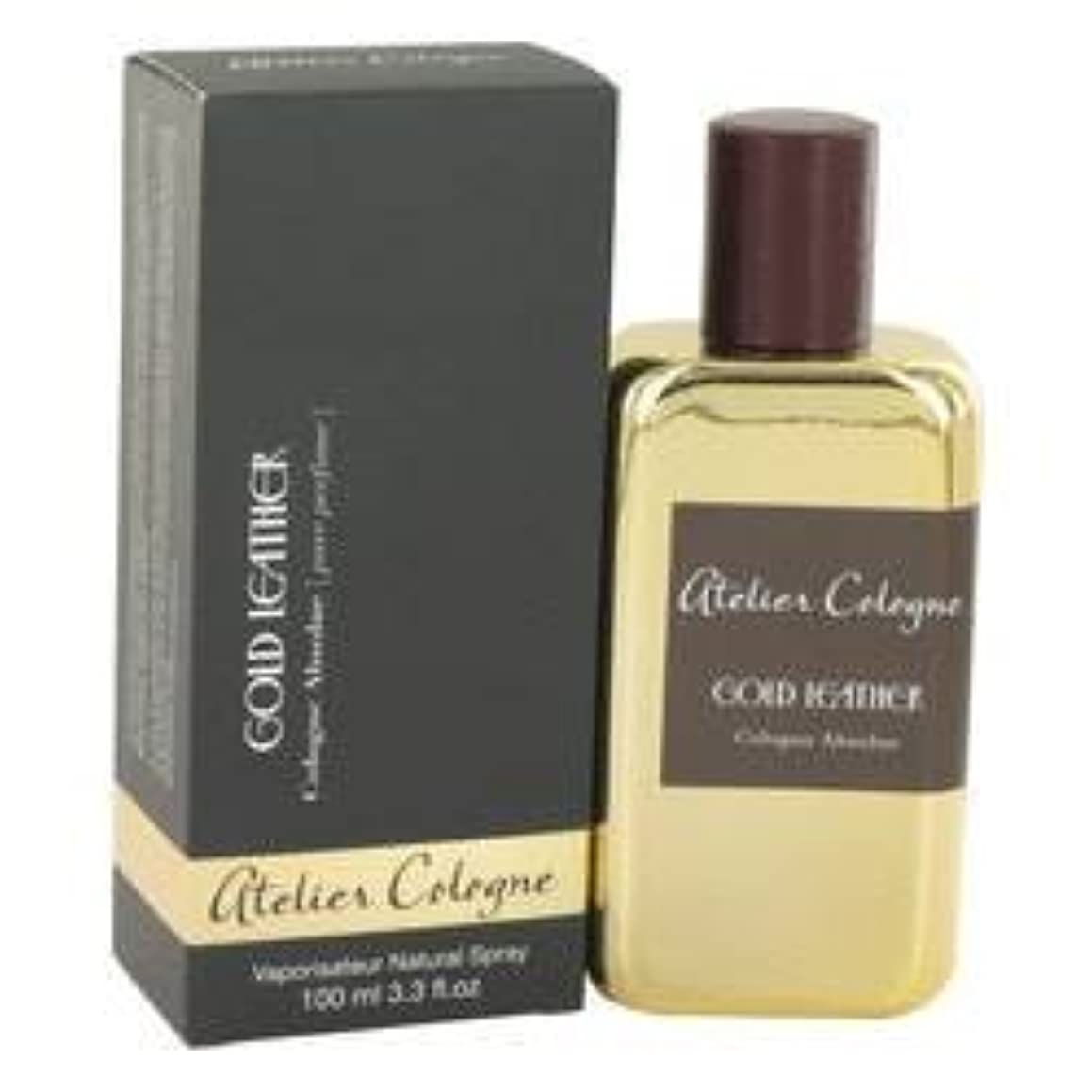 敬意を表して雹敗北Gold Leather Pure Perfume Spray By Atelier Cologne
