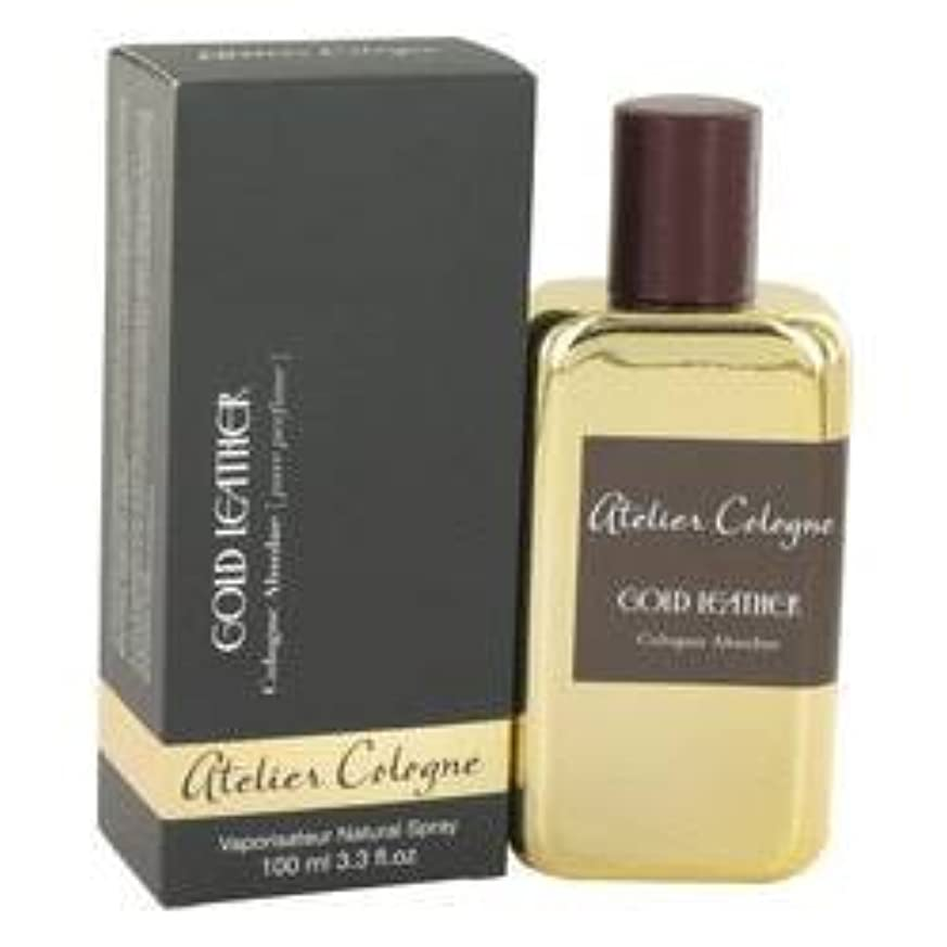 ナース復活する花輪Gold Leather Pure Perfume Spray By Atelier Cologne