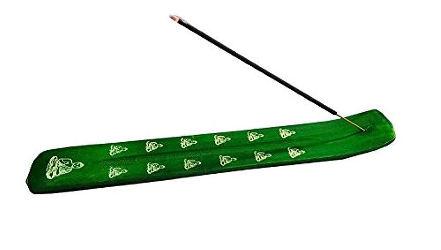 チャーター広告中央Incense Burner - Traditional Incense Holder colour (Green)