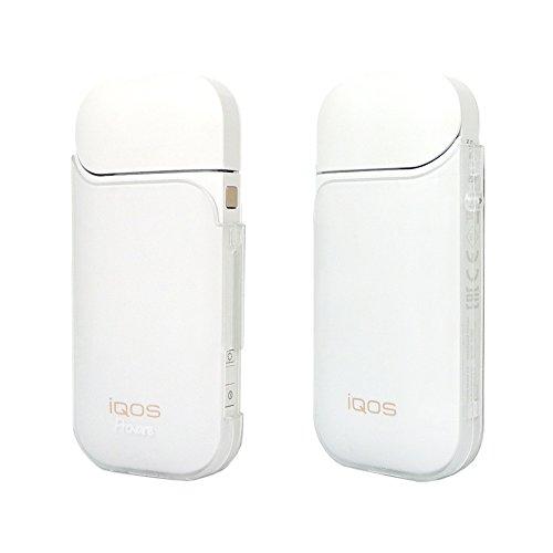 IQOS アイコス ケース クリア カバー 電子タバコ 専用 耐衝撃 耐熱 薄型 頑丈 シンプル コンパクト 軽量 ハード ポリカーボネート 【Provare】