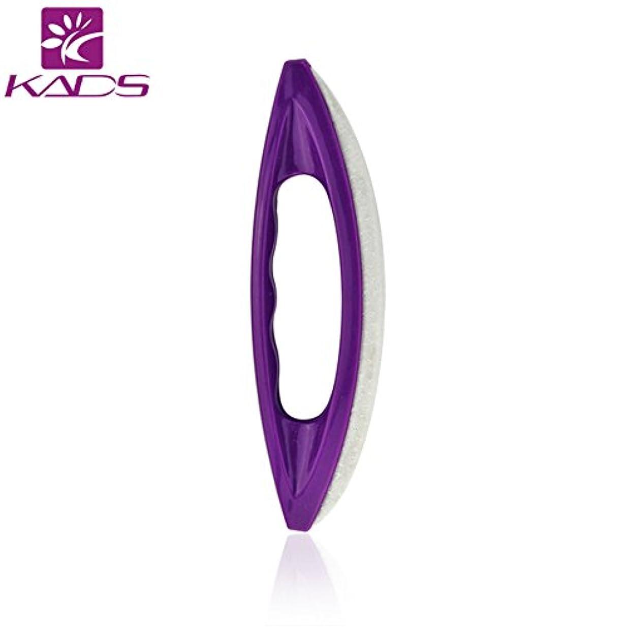 KADS シャモアジェルネイルバッファー ピカピカ ネイルシャイナー ポリッシュツール 羊レザー製ネイルアートツール(バッファー)