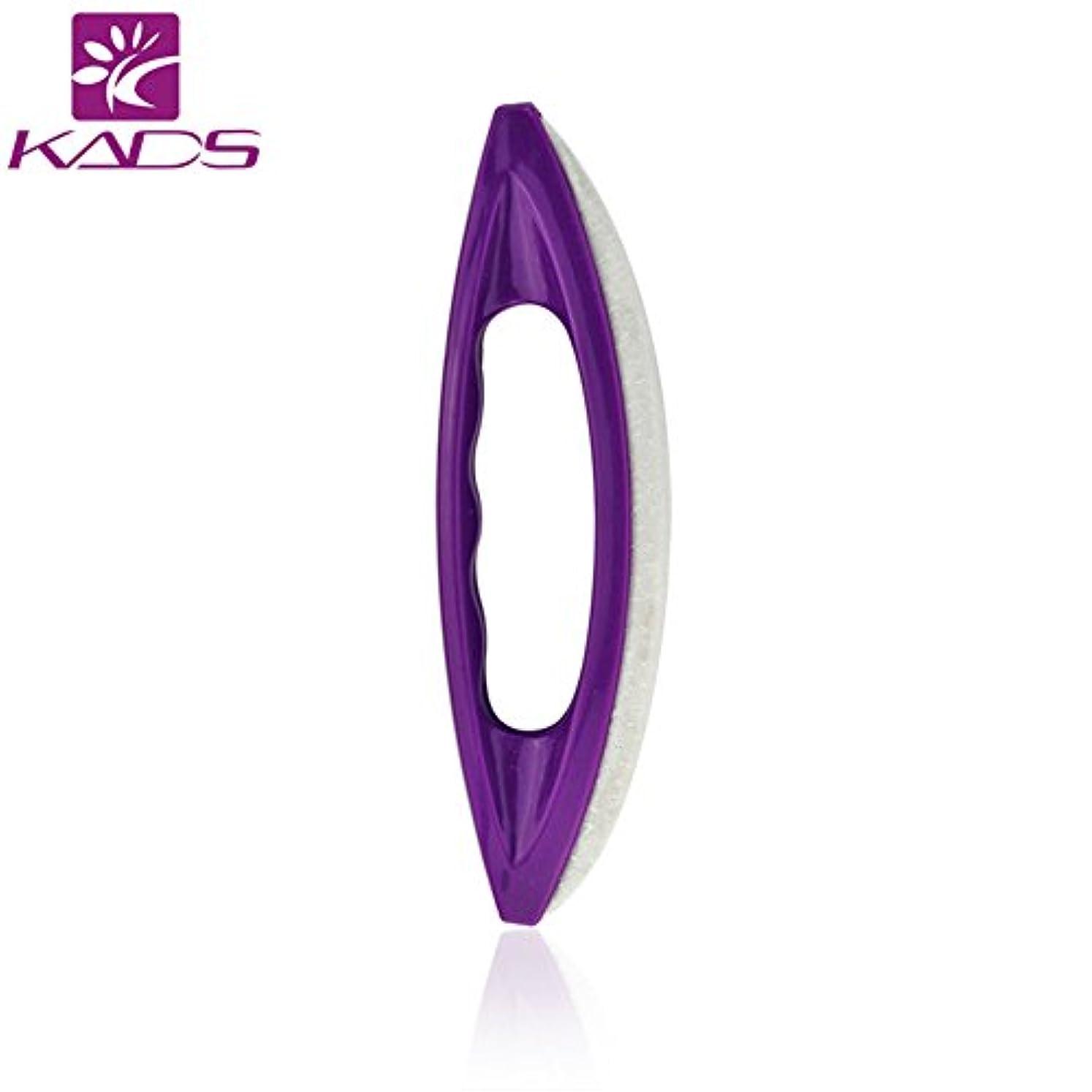変装した類推習熟度KADS シャモアジェルネイルバッファー ピカピカ ネイルシャイナー ポリッシュツール 羊レザー製ネイルアートツール