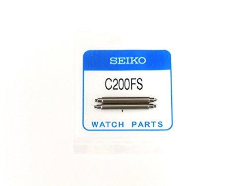[해외][SEIKO] 세이코 순정 부품 다이버 시계 용 (우레탄 밴드 고무 벨트) 전용 스프링 봉 20mm 용 | 2 개 세트/[SEIKO] Seiko genuine parts for diver watch (urethane band · rubber belt) dedicated spring rod 20 mm | 2 pcs set